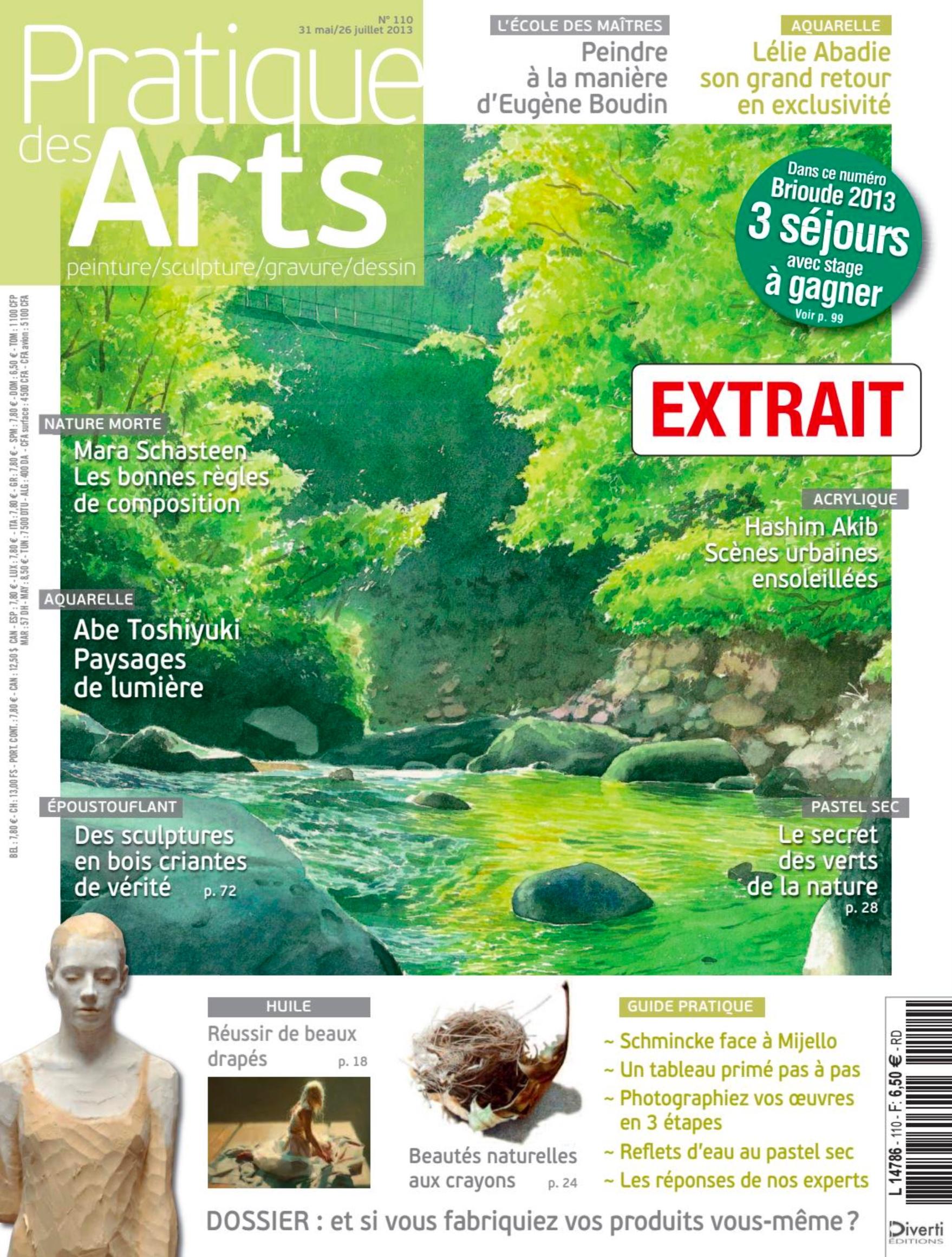 Pratiques des Arts - magazine n°110