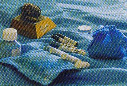 Cocagne, teinture et produits du bleu de pastel des teinturiers